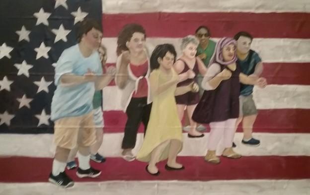 17G002 Dancing Americans